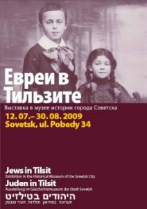 Exhibition Poster Jews Tilsit