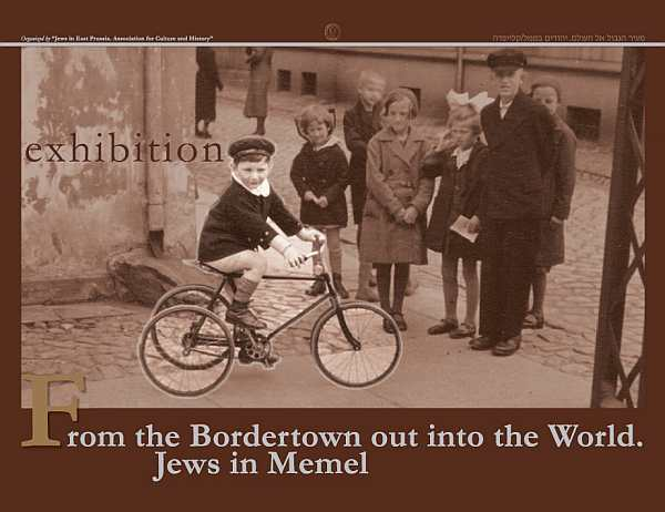 Jews in Memel Poster