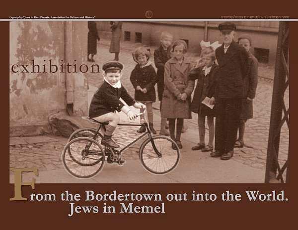 Jews in Memel Poster