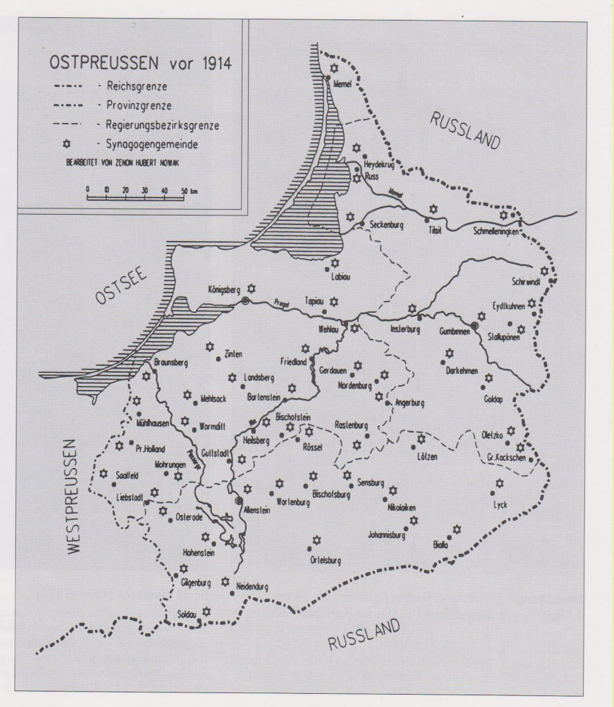 Jewish East Prussia before 1914