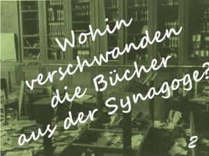Bücher der Bibliothek Synagoge Königsberg