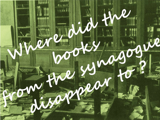 Where did the books disappear to?