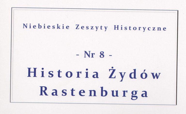 Titel einer Zeitschrift zu Rastenburg