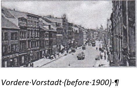 Bahnhofstrasse Koenigsberg