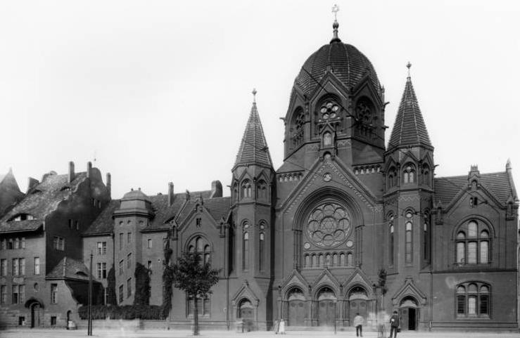 Synagogue Koenigsberg 1896