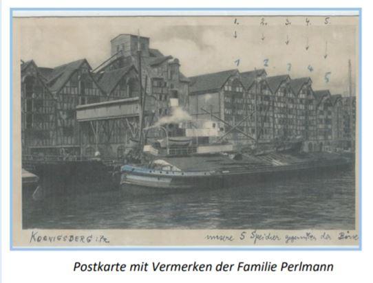 Magazine Lagerhaus Perlmann Koenigsberg