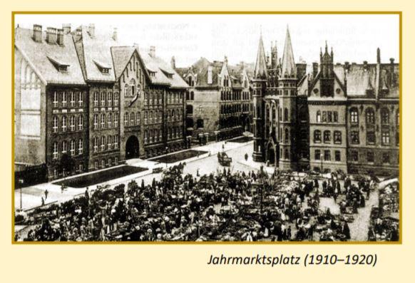 Jahrmarktsplatz Königsberg Rundgang Tour