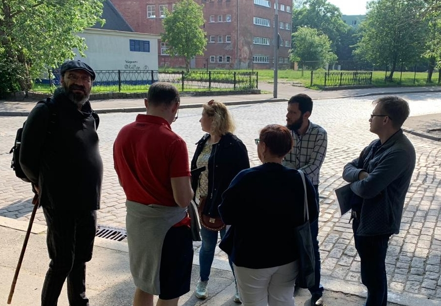 In the footsteps of the Jewish Koenigsberg