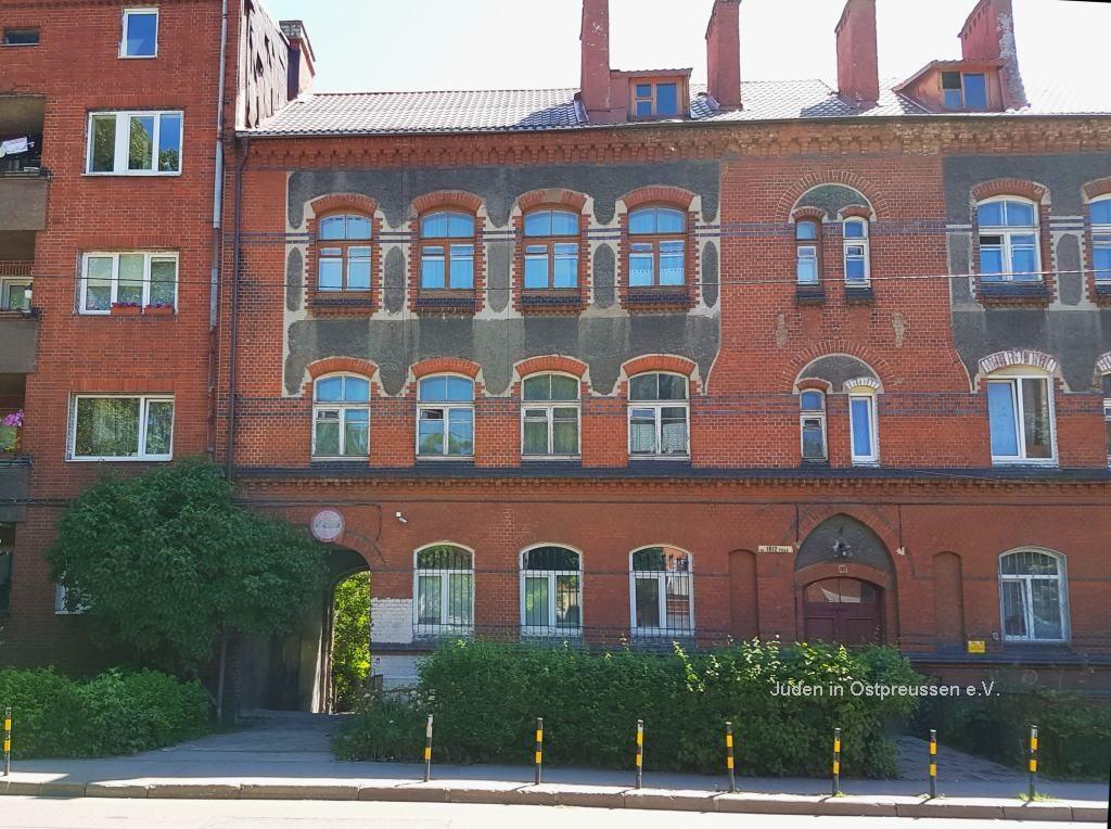 Driesen Foundation Front Koenigsberg