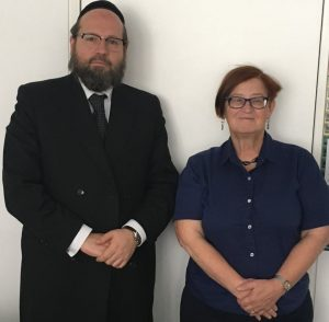 Rabbi Gurevich and Prof Leiserowitz