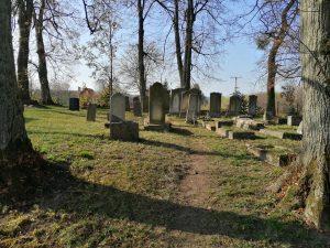 Cleaned cemetery Mikolajki