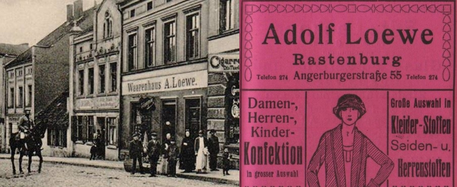 Shop an advertising of Adolf Loewe