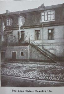 Vereinsheim Jüdischer Studenten in Königsberg