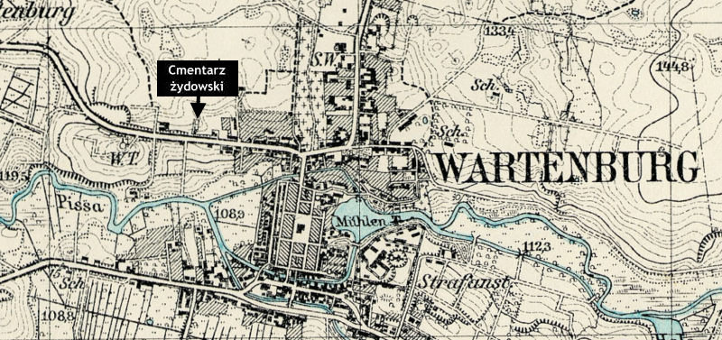 Map Wartenburg