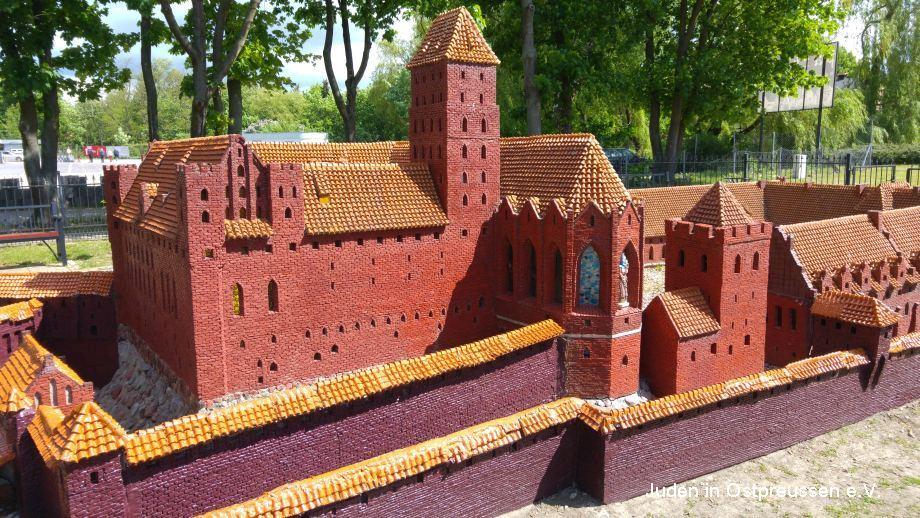 Malbork castle city
