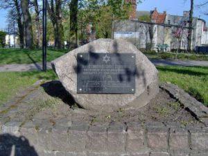 Gedenkstein Jüdischer Friedhof
