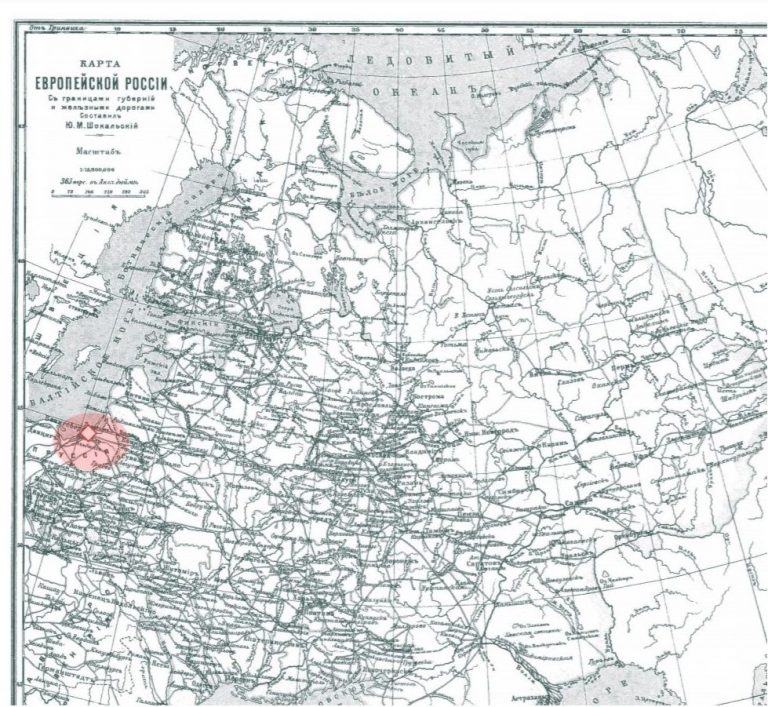 East Prussia Russian Map