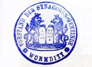 Stamp Jewish Congregation