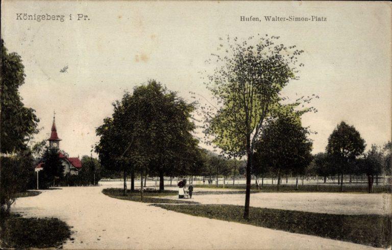 Walter Simon Square Konigsberg