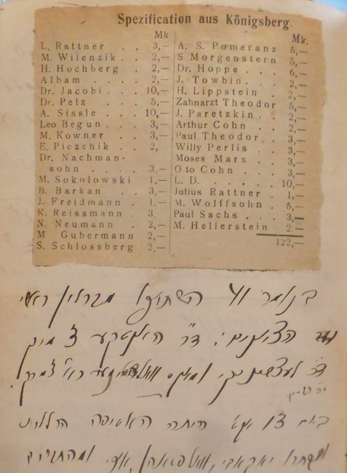 Page diary Sambursky