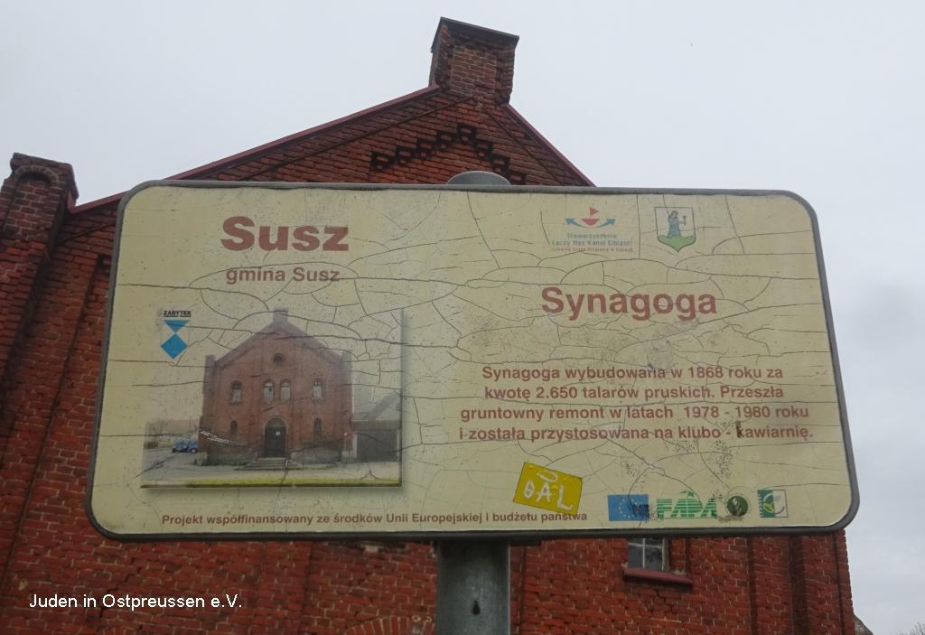 Synagoge Susz Rosenberg