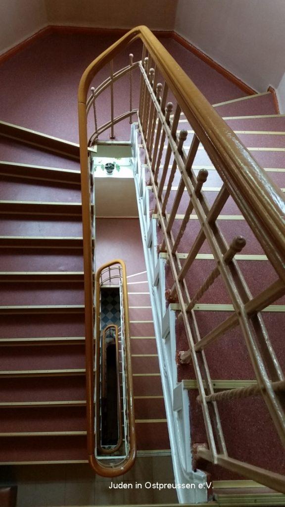 Treppenhaus Kosch Waisenhaus