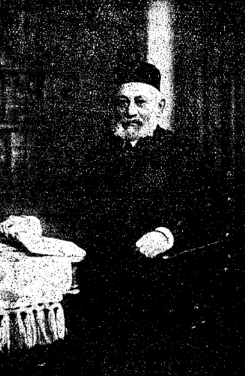 Hermann Lapidas Seckenburg Kantor