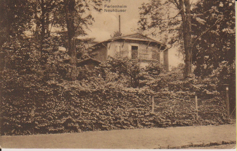 Postcard Youth Camp Neuhaeuser
