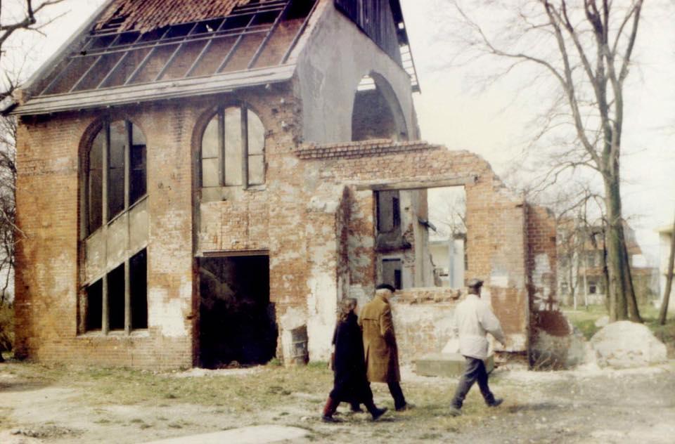 Synagoge Cranz Ruine