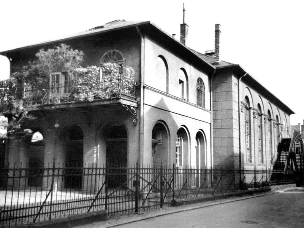 Alte Synagoge Synagogenstr 2
