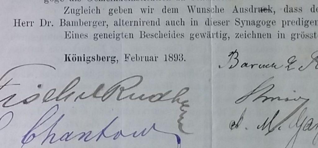 Letter 1893 Konigsberg