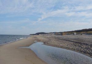 Yantarny beach