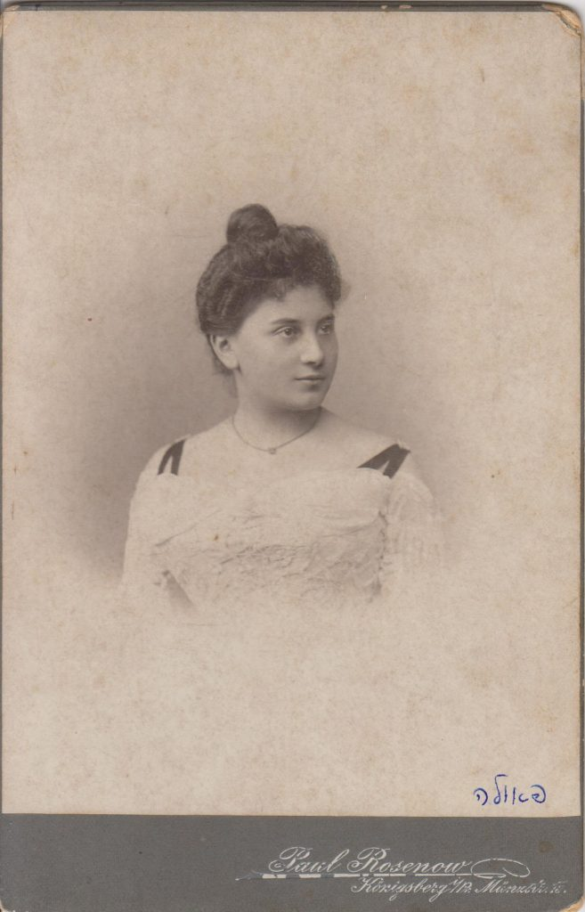 Paula Rabow-Wohlgemuth Gesang
