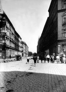 Plantage street in Königsberg