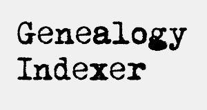 Genealogy Indexer