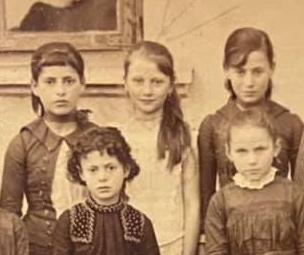Family Grünbaum in Ortelsburg