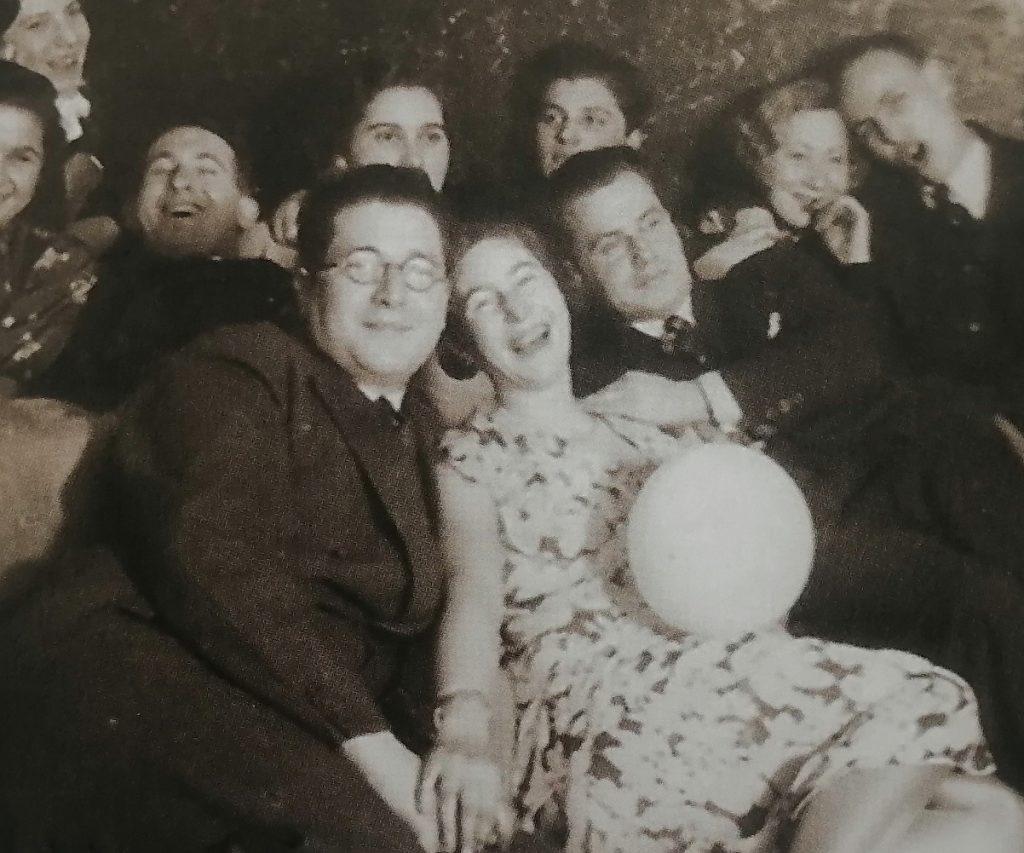 Party bei Juden in Memel