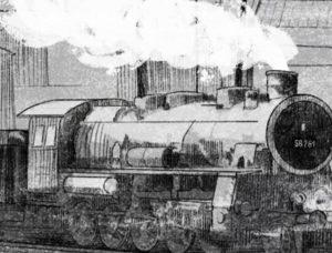Lokomotive Deportation